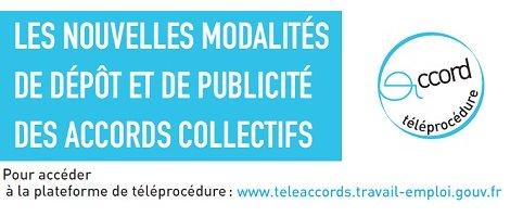 Lancement de la plateforme «TéléAccords» de dépôt des accords d'entreprise