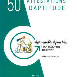 CARNET D'ATTESTATIONS D'APTITUDE