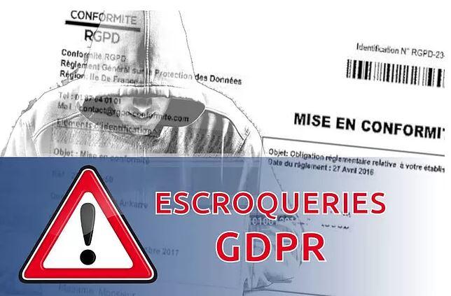 RAPPEL : Vigilance arnaques RGPD
