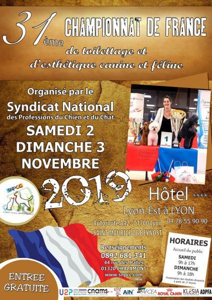 Championnats de France de Toilettage